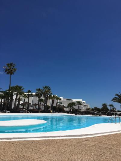 My pool in Lanza!