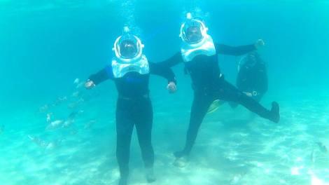 Sea Trekking!
