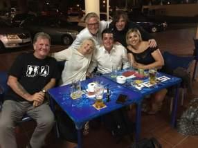 My team in Lanzarote