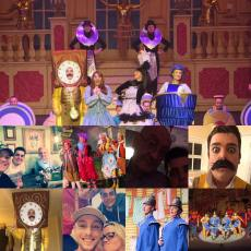 Some panto memories when Newcastle Panto Co did 'Beauty and the Beast'
