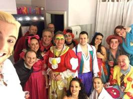 My lovely panto family at Newcastle Panto Co
