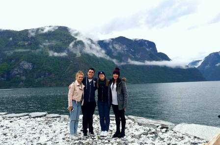 Somewhere in the world. I'm going to say Norway!