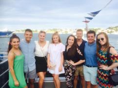 My show team in Bermuda.