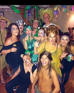 Partylife on the ship - Jungle Theme
