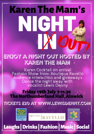 Karen The Mam's Night In… OUT!
